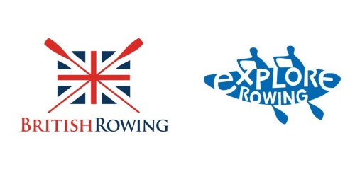 British rowing and explore rowing logos
